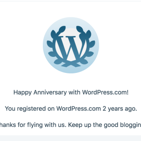 2 years of FemDom blogging. Thank you!